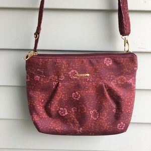 TRAVELON Anti-theft Compact Printed Crossbody Bag